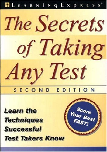 9781576853078: The Secrets of Taking Any Test, Second Edition