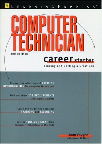 9781576853740: Computer Tech Career Starter 2e