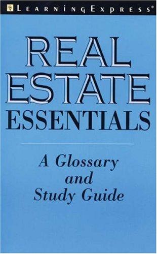 9781576854129: Real Estate Essentials