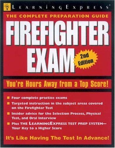 9781576854402: Firefighter Exam 2e