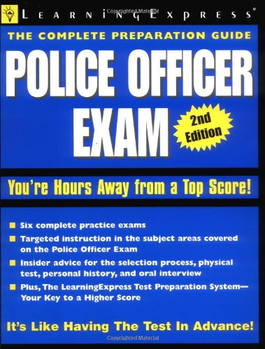 Police Officer Exam: Spano, Michael