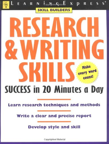 9781576854426: Research & Writing Skills Success in 20 Minutes a Day