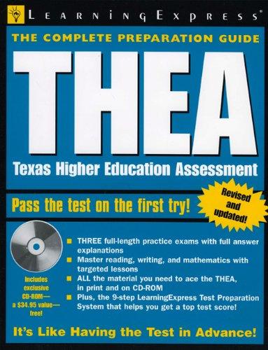 THEA Texas Higher Education Assessment Academic Exam Prep