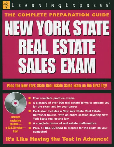 New York State Real Estate Sales Exam: LearningExpress Editors