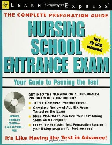 9781576854815: Nursing School Entrance Exam