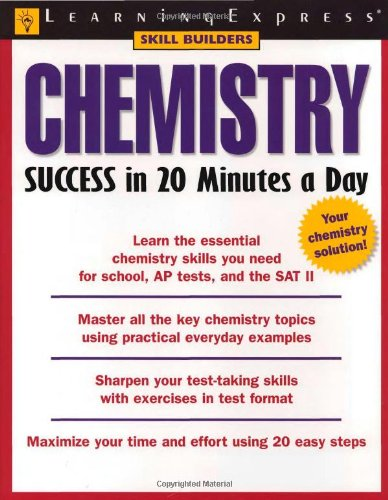 9781576854846: Chemistry Success in 20 Minutes a Day