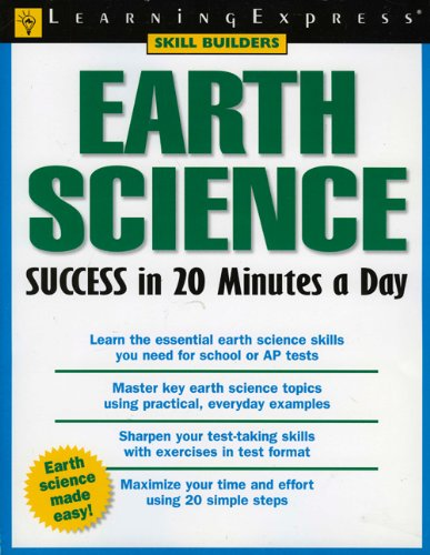 9781576854969: Earth Science Success in 20 Minutes a Day (Skill Builders (Learningexpress))
