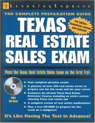 9781576855003: Texas Real Estate Sales Exam