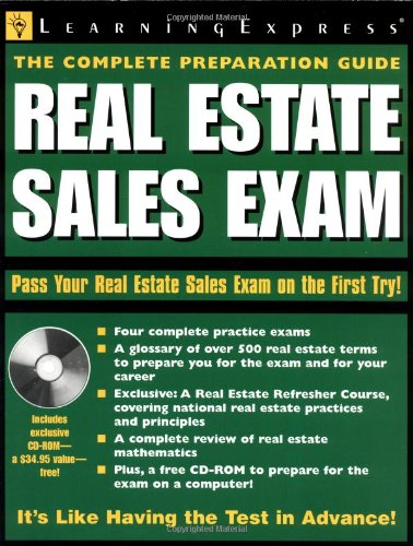 9781576855010: Real Estate Sales Exam