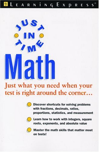 Just In Time Math (Rookie Read-About Science): LearningExpress Editors