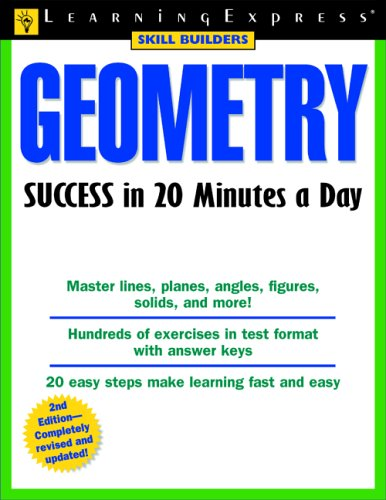 9781576855263: Geometry Success in 20 Minutes a Day (Skill Builders)