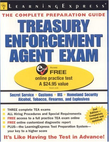 9781576855379: Treasury Enforcement Agent Exam