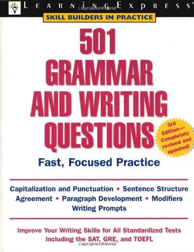 9781576855393: 501 Grammar & Writing Questions (501 Series)