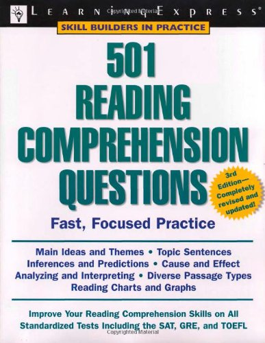 9781576855409: 501 Reading Comprehension Questions (Skill Builders in Practice)