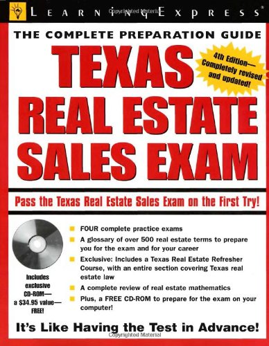 Texas Real Estate Exam (Texas Real Estate: LearningExpress Editors