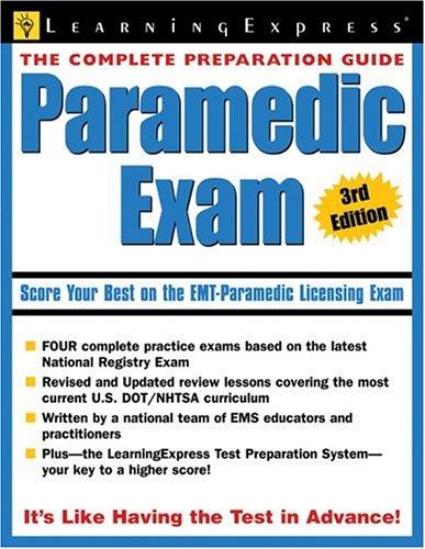9781576855447: Paramedic Exam