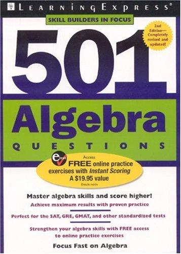 9781576855522: 501 Algebra Questions (501 Series)