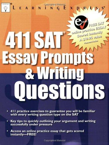9781576855621: 411 SAT Essay Prompts & Writing Questions