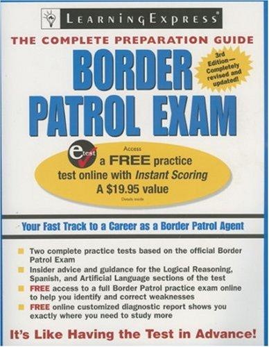 9781576855751: Border Patrol Exam