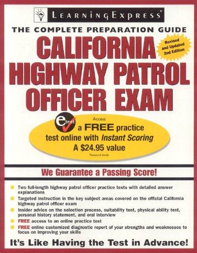 9781576855898: California Highway Patrol Officer Exam