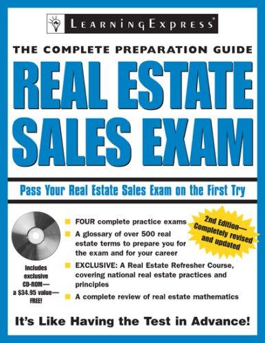 9781576855997: Real Estate Sales Exam