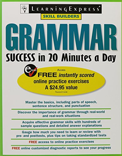 9781576856000: Grammar Success in 20 Minutes a Day