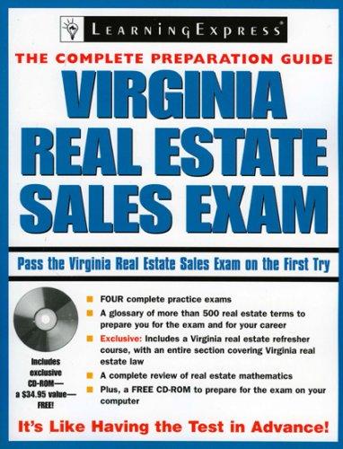9781576856017: Virginia Real Estate Sales Exam