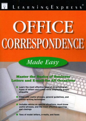 9781576856048: Office Correspondence Made Easy