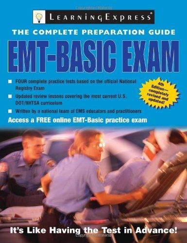 9781576856208: EMT-Basic Exam (Complete Preparation Guide EMT Basic Exam)