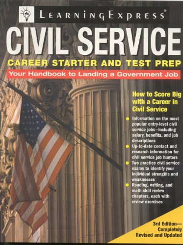 9781576856253: Civil Service Career Starter and Test Prep: How to Score Big with a Career in Civil Service