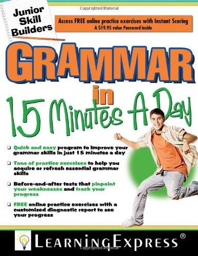 9781576856628: Grammar in 15 Minutes a Day: Junior Skill Buider