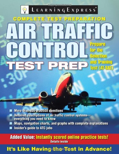 9781576856659: Air Traffic Control Test Prep (Air Traffic Control Test Preparation)
