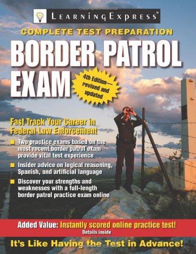 9781576856727: Border Patrol Exam