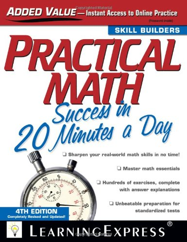 9781576856826: Practical Math Success in 20 Minutes a Day