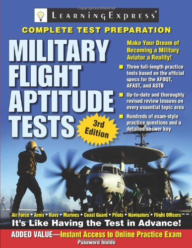 9781576856888: Military Flight Aptitude Tests