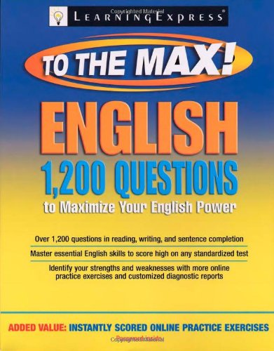 9781576857045: English to the Max: 1,200 Questions That Will Maximize Your English Power