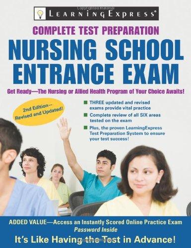 9781576857052: Nursing School Entrance Exam