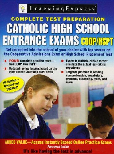 Catholic High School Entrance Exams, COOP/HSPT: LearningExpress Editors