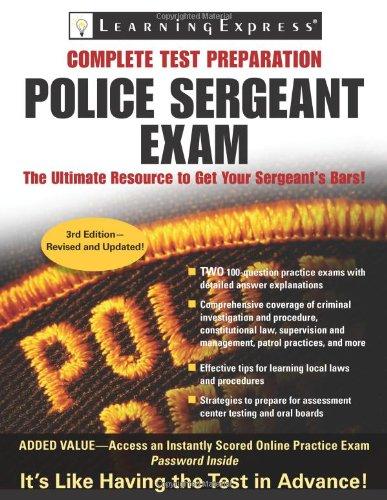 9781576857083: Police Sergeant Exam (Police Sergeant Exam (Learning Express))