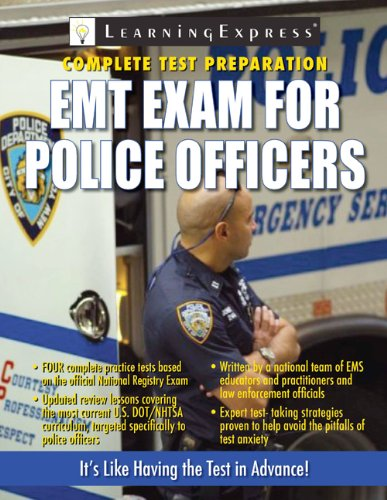 9781576857175: EMT Exam for Police Officers
