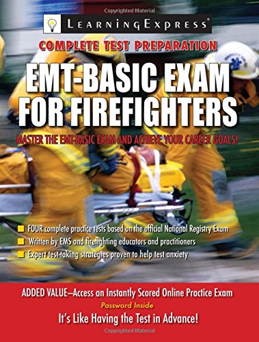 Emt Exam For Firefighters By Learningexpress Learning Express