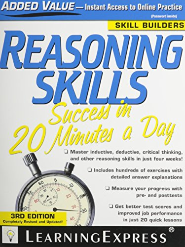 9781576857205: Reasoning Skills Success in 20 Minutes a Day