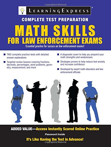 9781576857229: Math Skills for Law Enforcement Exams