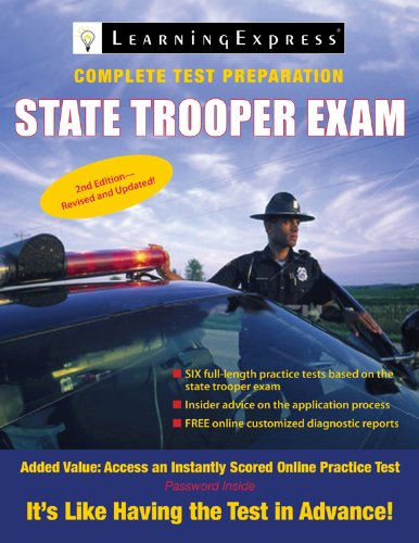 9781576857359: State Trooper Exam (State Trooper Exam (Learning Express))