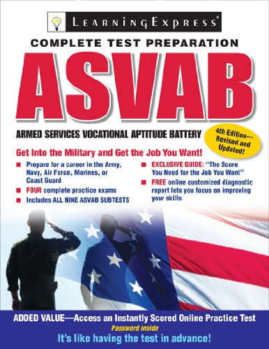 ASVAB: Armed Services Vocational Aptitude Battery (Armed: LearningExpress Editors