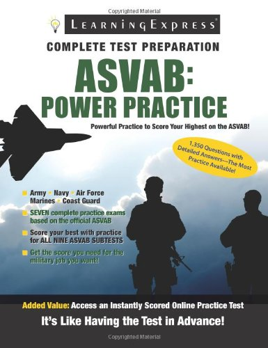 9781576857496: ASVAB: Power Practice