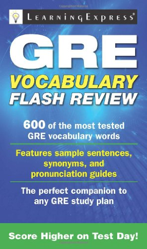9781576857816: GRE Vocabulary Flash Review