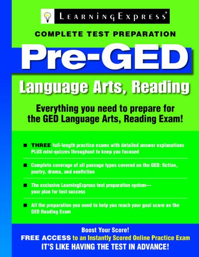 GED Test Skill Builder: Language Arts, Reading: Learning Express Llc