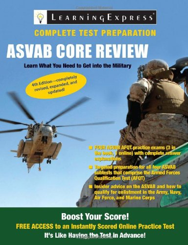 ASVAB: Core Review: LearningExpress LLC Editors