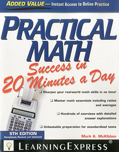 Practical Math Success in 20 Minutes a Day: LearningExpress LLC Editors